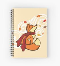 Autumn Fox Spiral Notebook