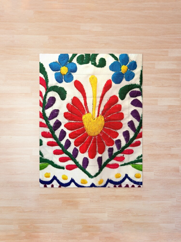 Alternate view of Mexican Flowers Comforter
