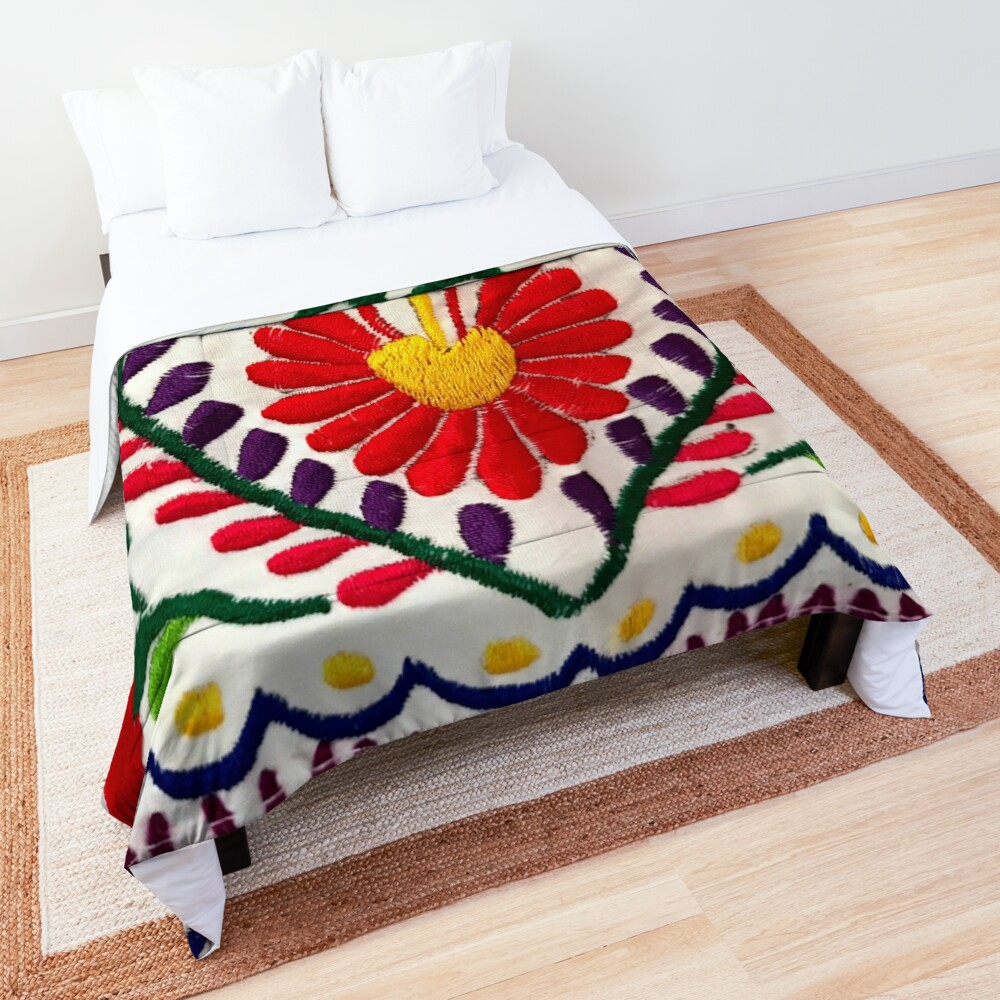 Mexican Flowers Comforter