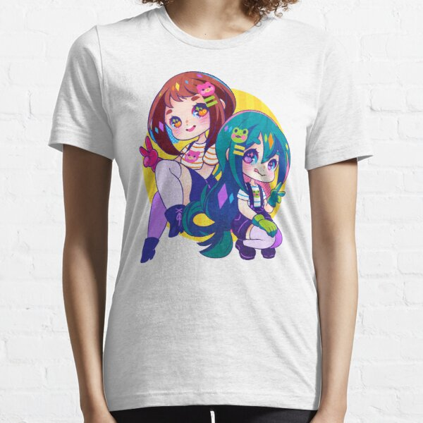 BNHA Uraraka & Tsuyu Essential T-Shirt