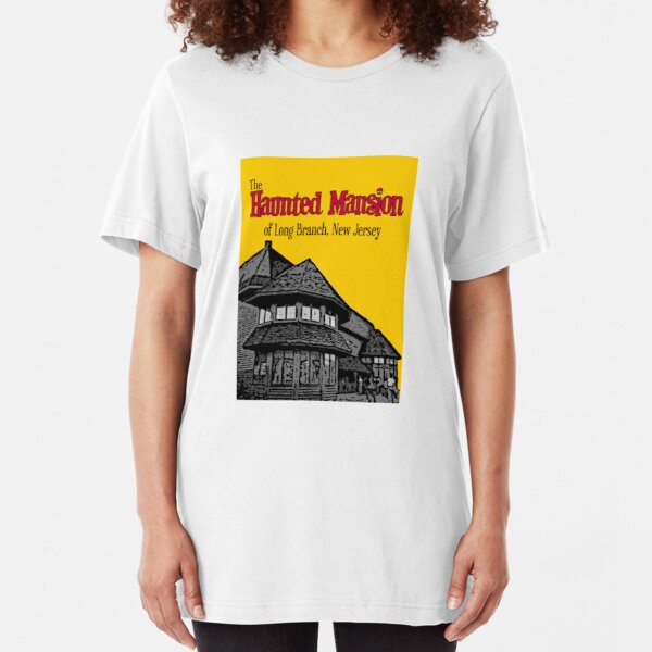 The Haunted Mansion of Long Branch NJ Slim Fit T-Shirt