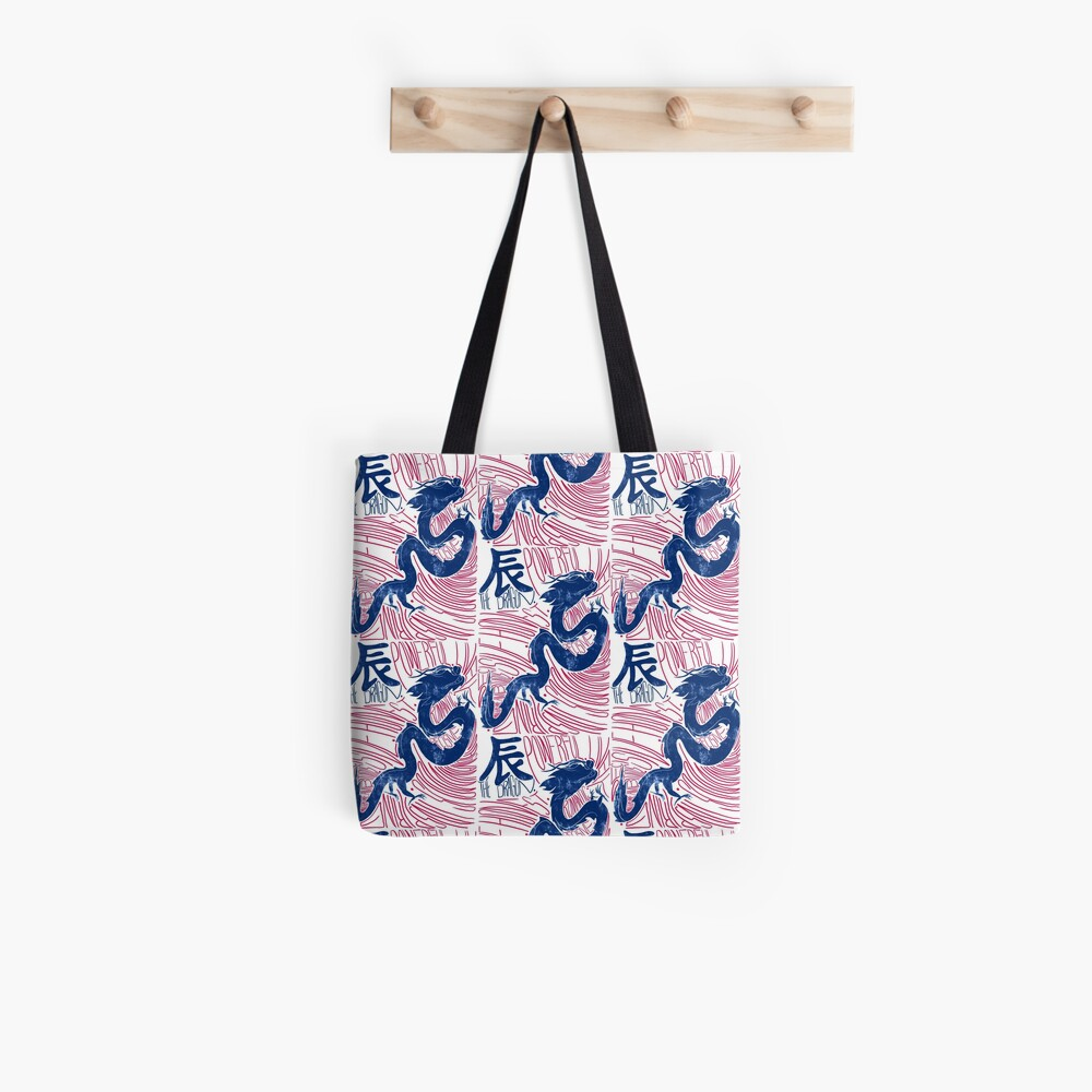 The Dragon Chinese Zodiac Sign Tote Bag