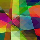 Colorful Geometric Abstract Pattern by artonwear
