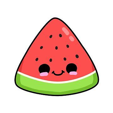 Cute Melon Slice by StickersAndStuff