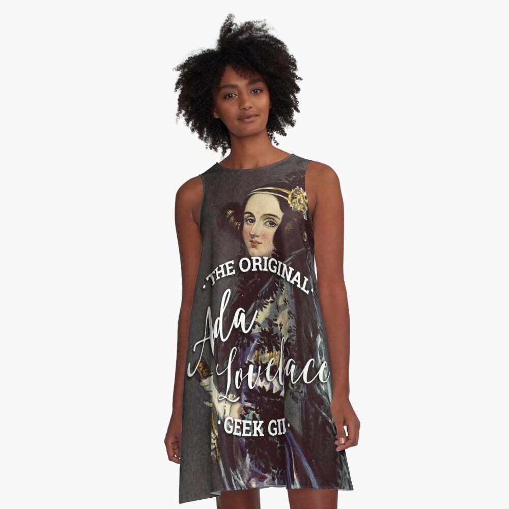 Ada Lovelace - The Original Geek Girl A-Line Dress