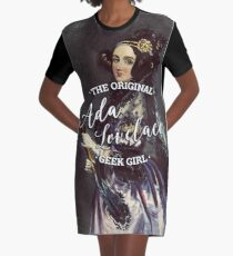 Ada Lovelace - Das Original Geek Girl T-Shirt Kleid