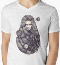 Time Does Not Exist -Tee Men's V-Neck T-Shirt