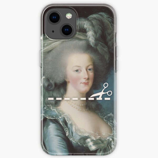 Cut Here - Marie Antoinette iPhone Soft Case