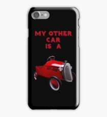 My Other Car Is A Hot Rod (on black) - iPhone Case iPhone Case/Skin