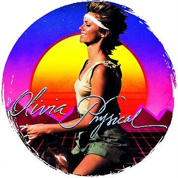 Olivia Newton-John - Physical - 80s Sunset by retropopdisco