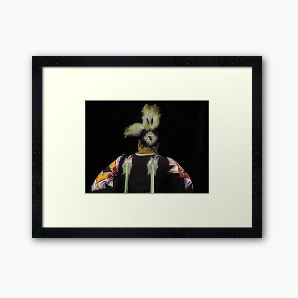 Native American Series No. 26 Framed Art Print
