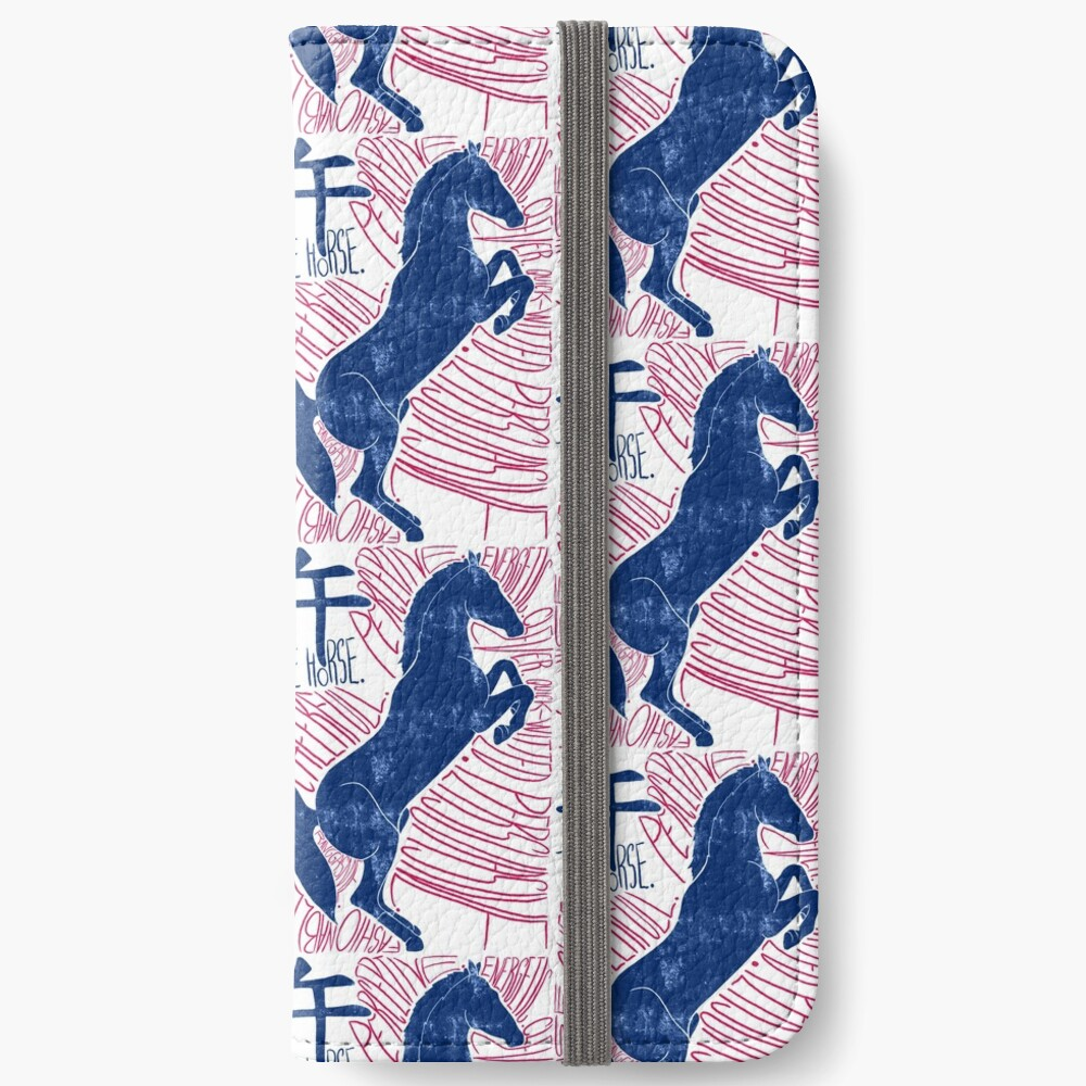 The Horse Chinese Zodiac Sign iPhone Wallet