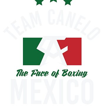 Canelo Alvarez The Face of Boxing Mexico Team Canelo by CageRepublic