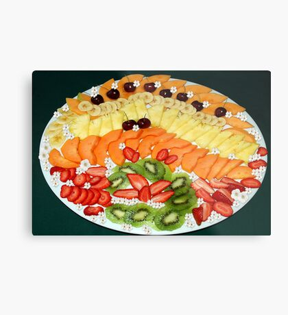 A FEAST ON FRUITS ! Metal Print
