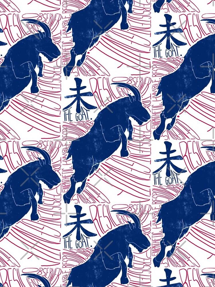 The Goat / Sheep Chinese Zodiac Sign by Ranggasme