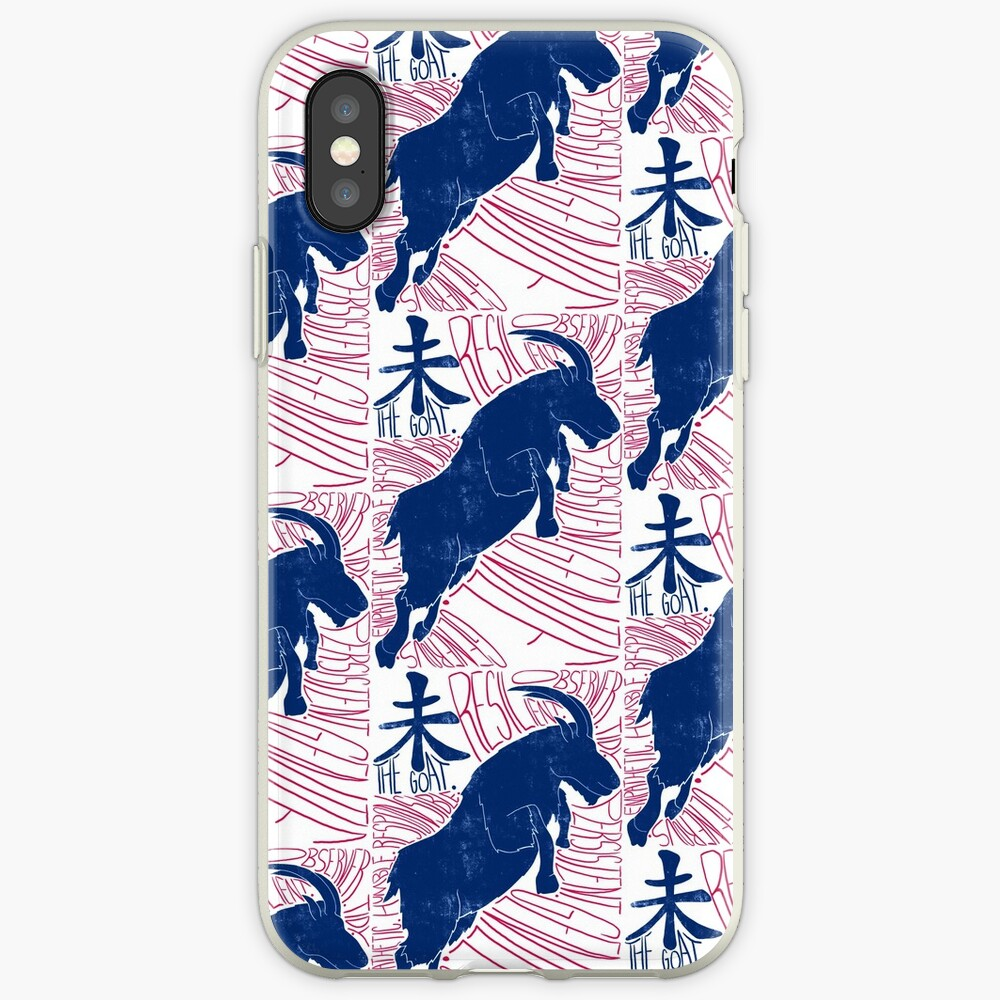 The Goat / Sheep Chinese Zodiac Sign iPhone Case & Cover