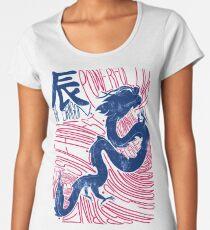 The Dragon Chinese Zodiac Sign Women's Premium T-Shirt