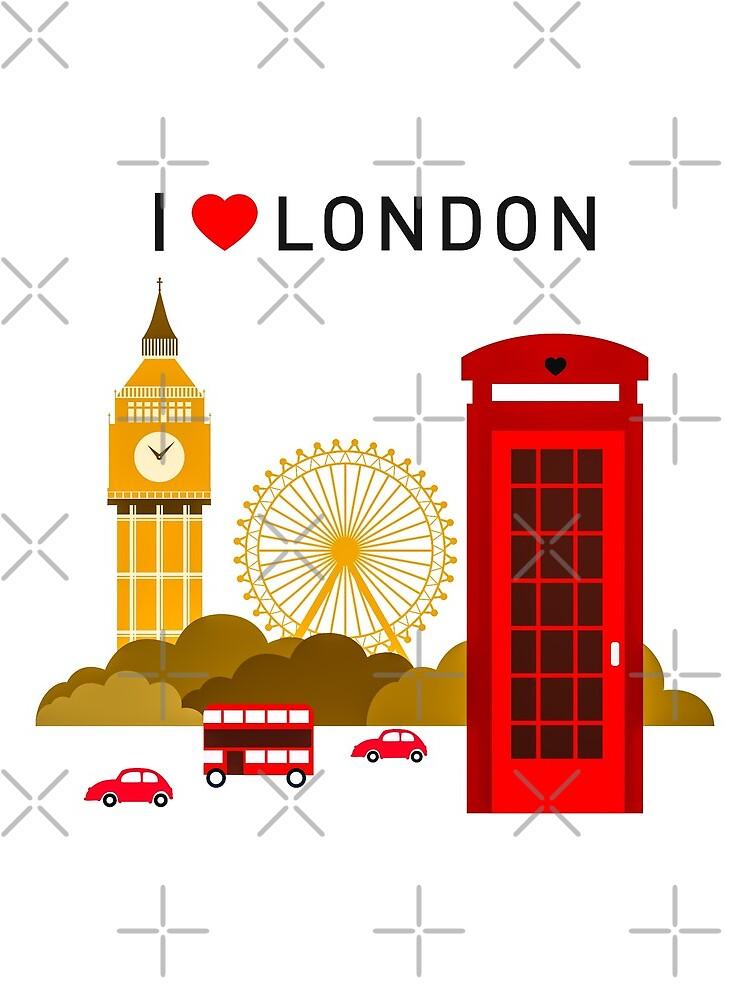 Ich liebe London von cybermall