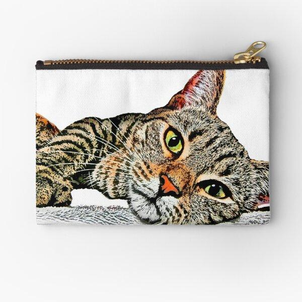 Shelter Cat #7 Zipper Pouch
