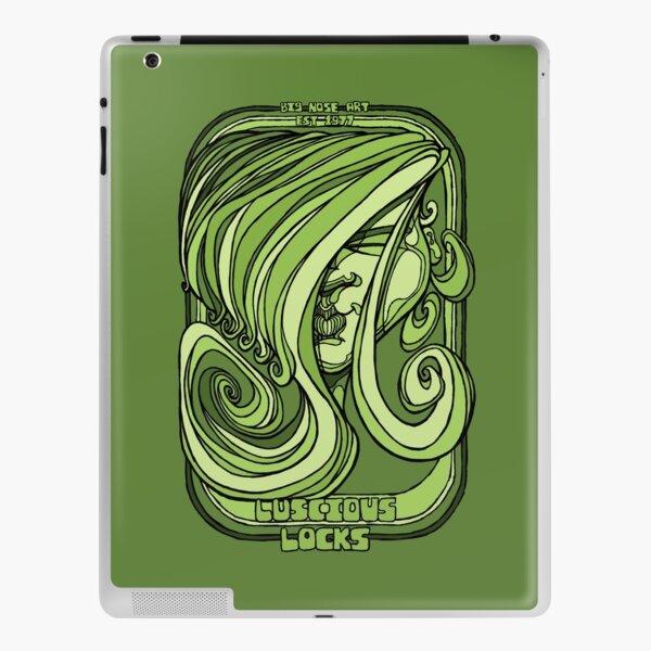 Luscious Locks - Green iPad Skin