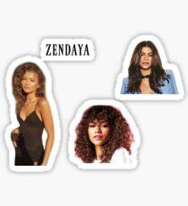 zendaya sticker set Sticker
