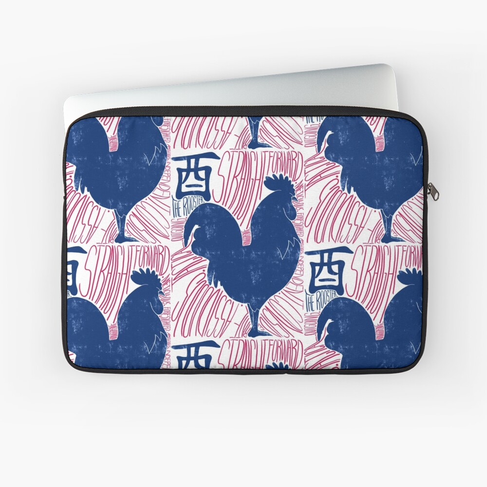 The Rooster Chinese Zodiac Sign Laptop Sleeve