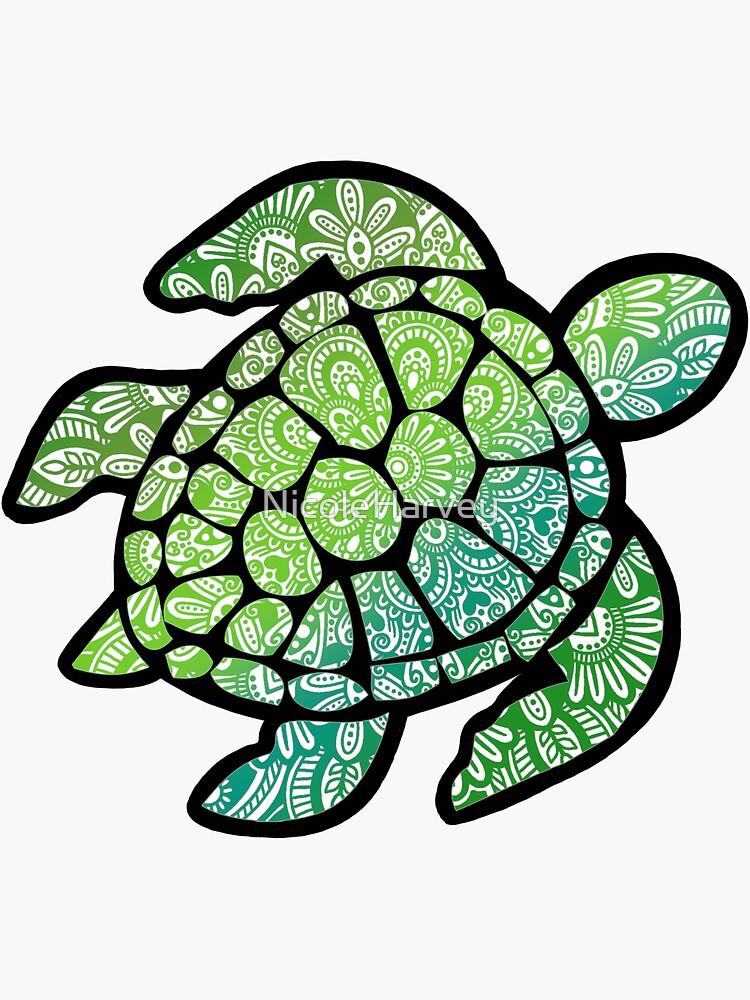 Mandala turtle! by NicoleHarvey