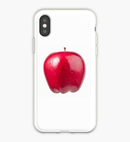 Red Apple (on white) for the Apple iPhone Cover! iPhone Case