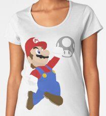 Mario - 01 Minimalist Women's Premium T-Shirt