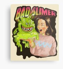 Bad slimer Metal Print