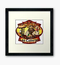 Las Carnitas Framed Print