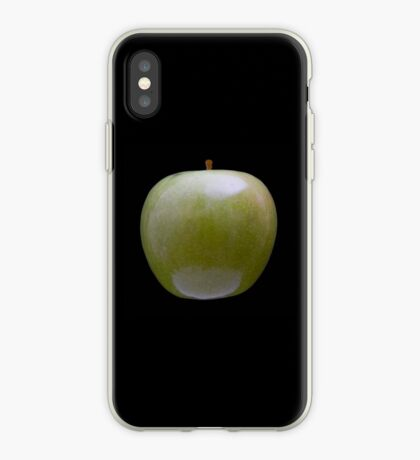 Granny Smith Apple (on black) for the Apple iPhone Cover! iPhone Case