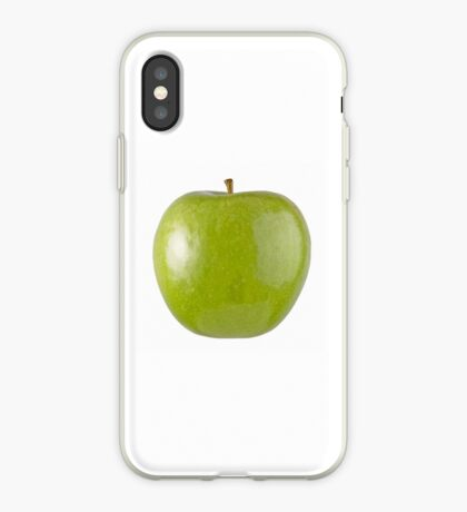 Granny Smith Apple (on white) for the Apple iPhone Cover! iPhone Case