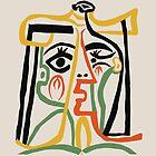 Picasso - Frauenkopf # 1 von ShaMiLaB