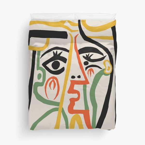 Picasso - Woman's head #1 Duvet Cover