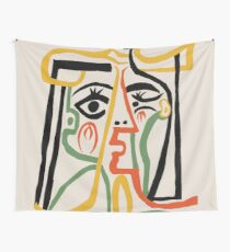 Picasso - Woman's head #1 Tapestry