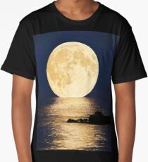 Supermoon 2016 Long T-Shirt