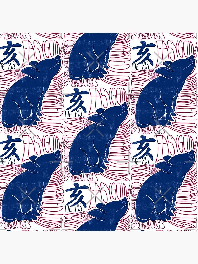 The Pig Chinese Zodiac Sign by Ranggasme
