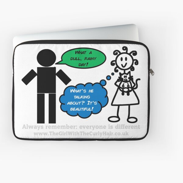 How do you see the world?  Laptop Sleeve