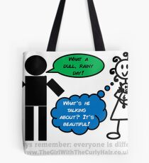 How do you see the world?  Tote Bag