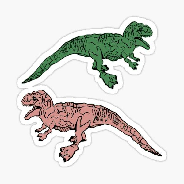 T. Rex Pattern Sticker