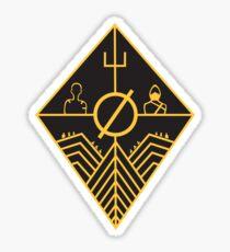 Trench Concept Art Sticker