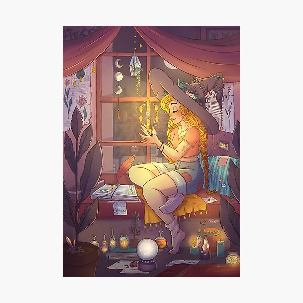 Witchy things Photographic Print