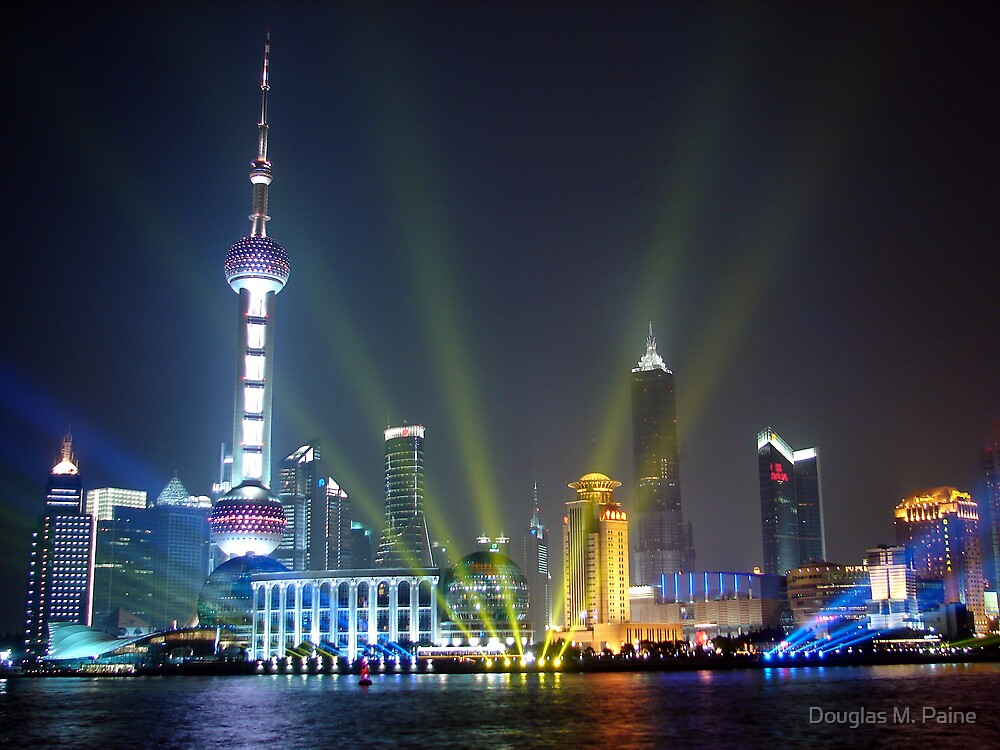Live, from Shanghai! by Douglas M. Paine