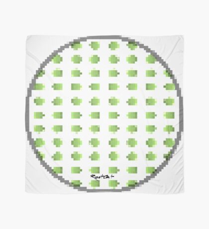 Green Dot Square by RootCat Scarf