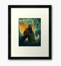 Echoes of Oblivion Framed Print