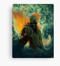 Echoes of Oblivion Canvas Print