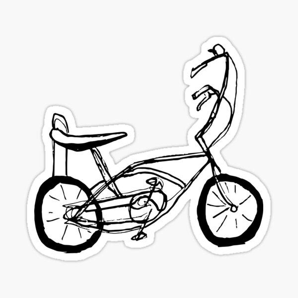 Schwinn Stingray Fahrrad Sticker