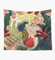 Relaxed In Jungle Wall Tapestry