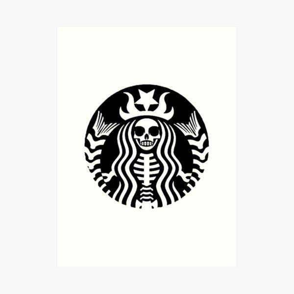 Starbucks - Death Art Print